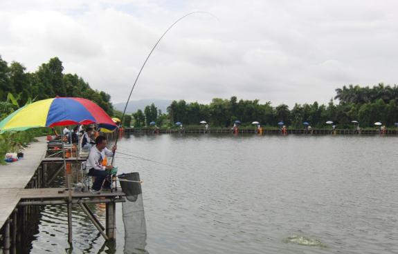 2011年珠海钓鱼网淡钓比赛相片
